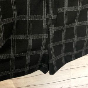 Zara Pants - Zara Woman Plaid Long Sleeve Zip Romper